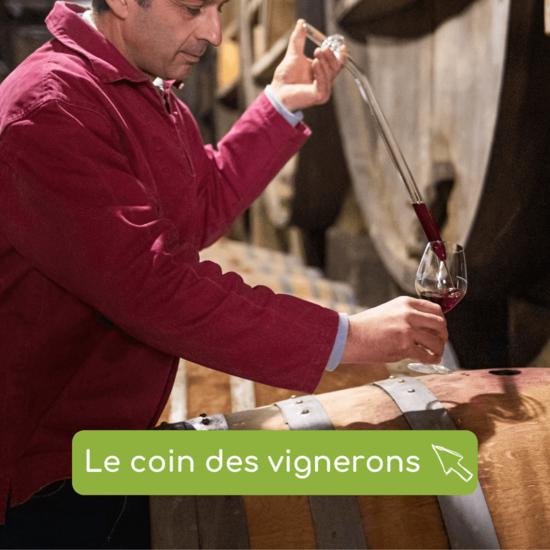Retrouvez les vins rosé, rouge et blanc, des vignerons du Sud Luberon